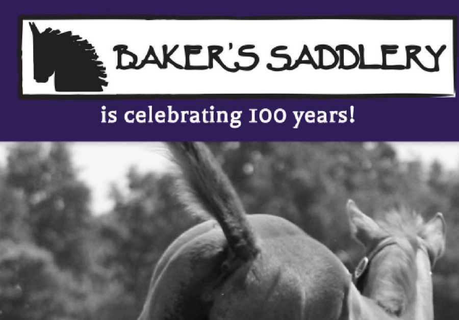 BAKERS 100 YEAR ANNIVERSARY SALE! - Equestrian Ontario Magazine